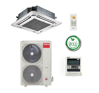 Vivax Cassette type air conditioner ACP-48CC140AERI R32