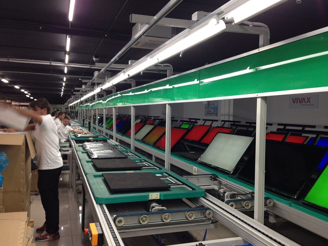 Production of LED TVs - Vivax